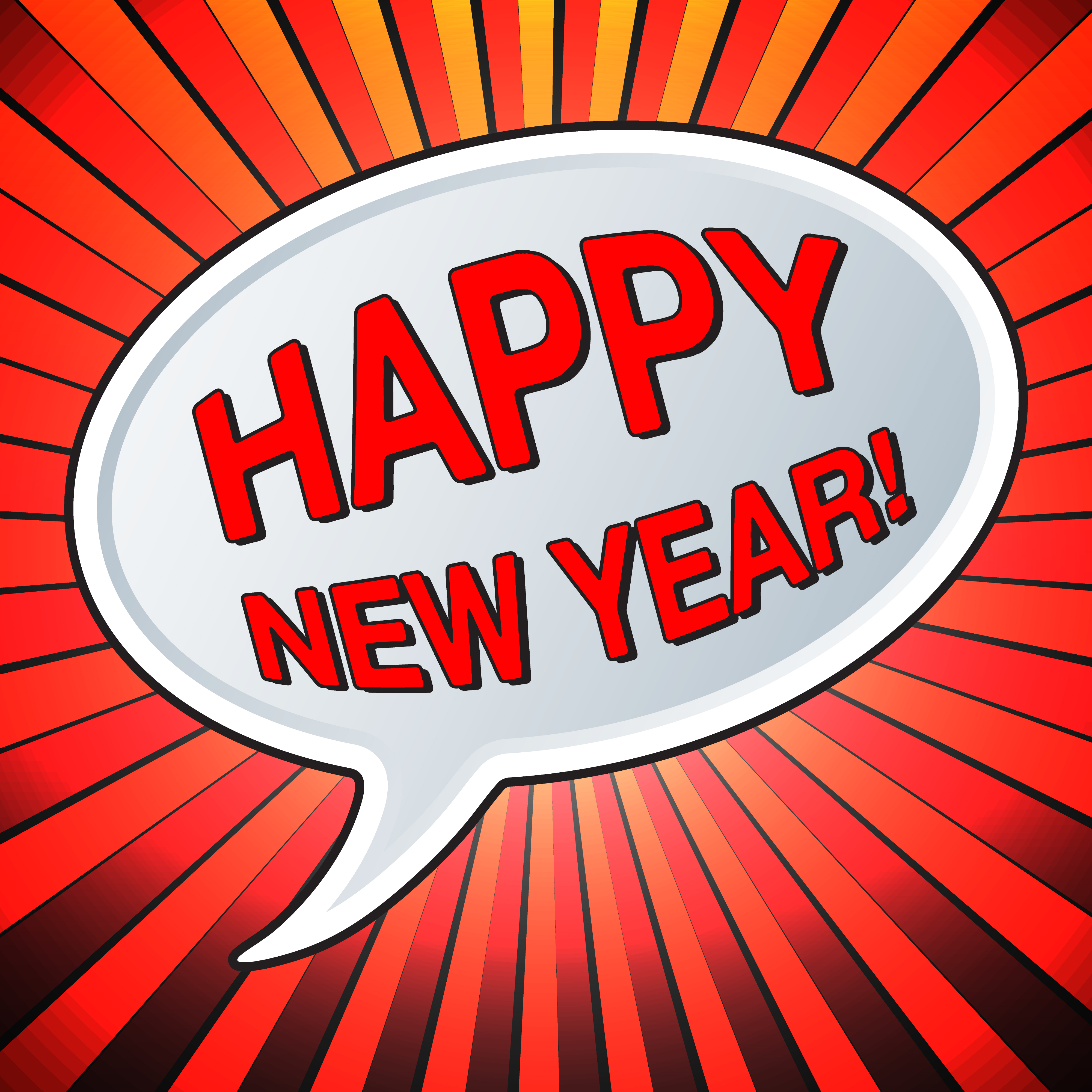 Happy new year - Download Free Vectors, Clipart Graphics ...