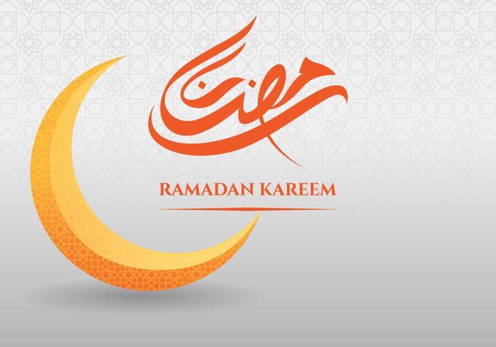 Ramadan Kareem Greeting Card Background