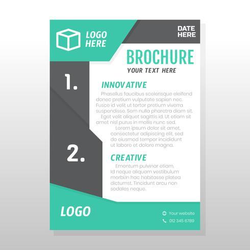 Geschäftsbroschüre Design