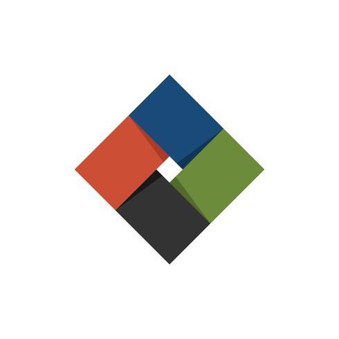 Diamond Plaited Logo Template Illustration Design. Vector EPS 10.