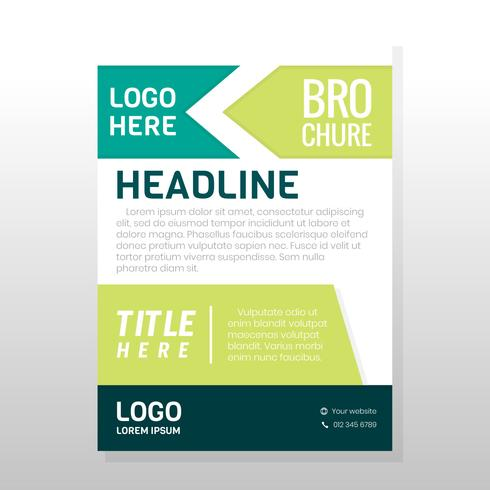 Zakelijke brochureontwerp