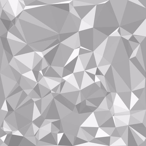 Gray White Polygonal Background, Creative Design Templates