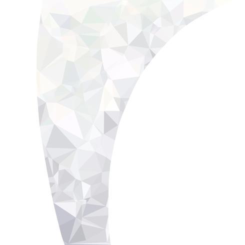 Fundo branco poligonal cinza, modelos de Design criativo