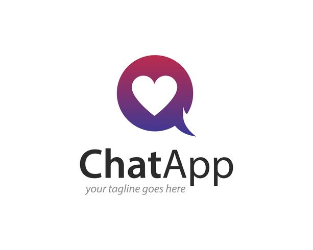 Chat-APP Logo Icon Vector