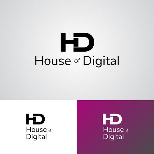 Plantilla de diseño de logotipo corporativo