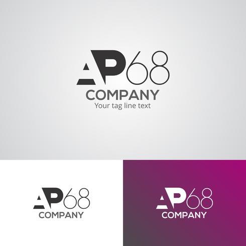 Modelo de design de logotipo corporativo