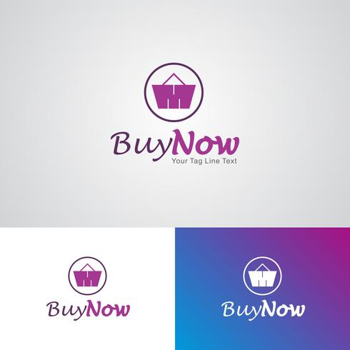 Corporate Buy Now Logo Design Template