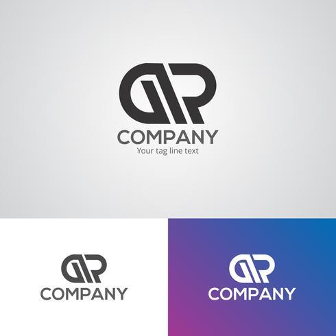 Plantilla de diseño de logotipo corporativo creativo