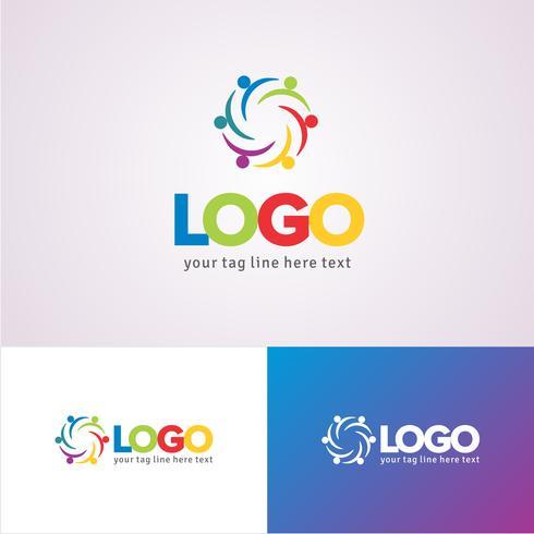Plantilla de diseño de logotipo de ONG corporativa
