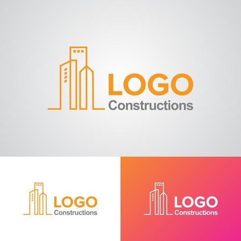 Construction Logo Design Template