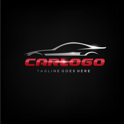Création de logo de voiture élégante
