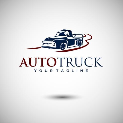 Design de logotipo de caminhão