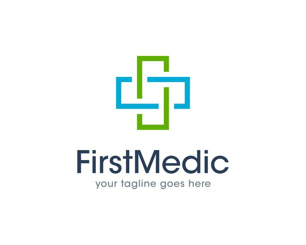 First Medical Health Logo Icon Vector