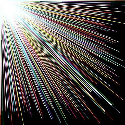 Zerstreuen Sie Farbgerade, abstrakten Hintergrund.