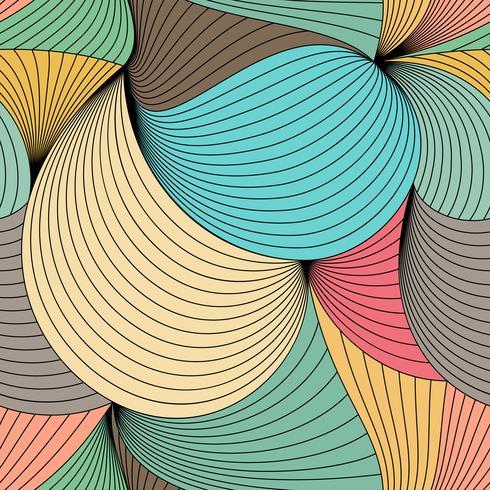 Patrón de colores sin fisuras vector