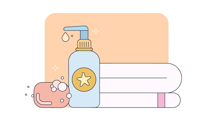 Handhygiene-Vektor
