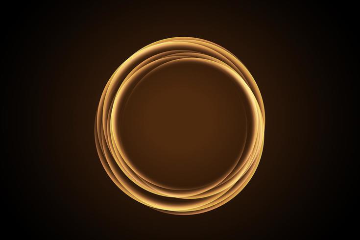 fire circle. Glowing light ring trace. Glitter magic sparkle swirl trail effect. unusual, cool.