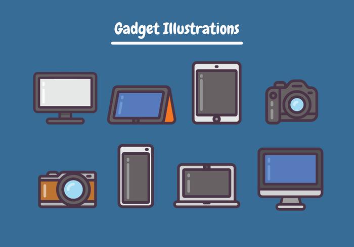 Ilustrações de gadget