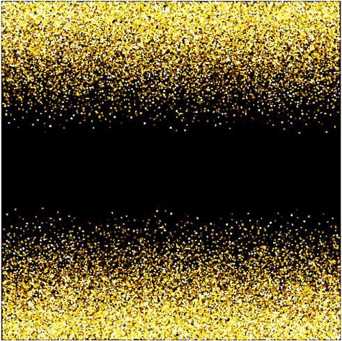 vattenfall golden glitter sparkle-bubblar champagne partiklar stjärnor svart bakgrund gott nytt år semester koncept.