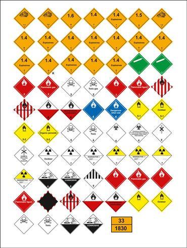 conjunto de sinal obrigatório, sinal de perigo, sinal proibido, sinais de segurança e saúde no trabalho, placa de aviso, sinal de emergência de incêndio. para adesivos, pôsteres e outros materiais de impressão. fácil de modificar. vetor.