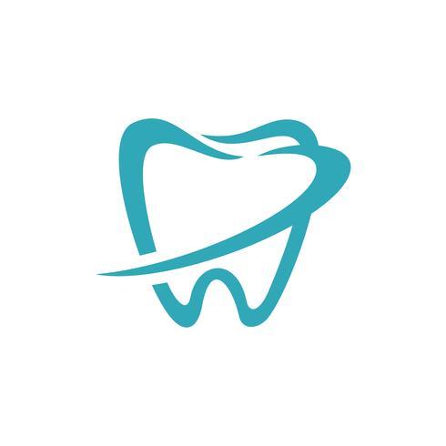 Tandvorm Dental Logo Template Illustratieontwerp. Vector EPS 10.