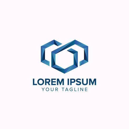 Imóveis criativos com letra M Logo