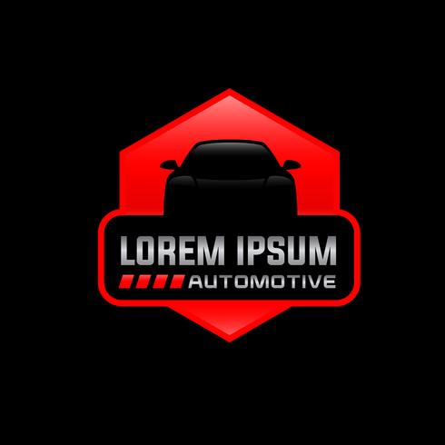 modelo de design de logotipo de vetor auto
