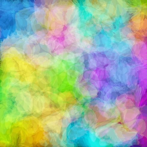 Fondo abstracto colorido en arte del vector.