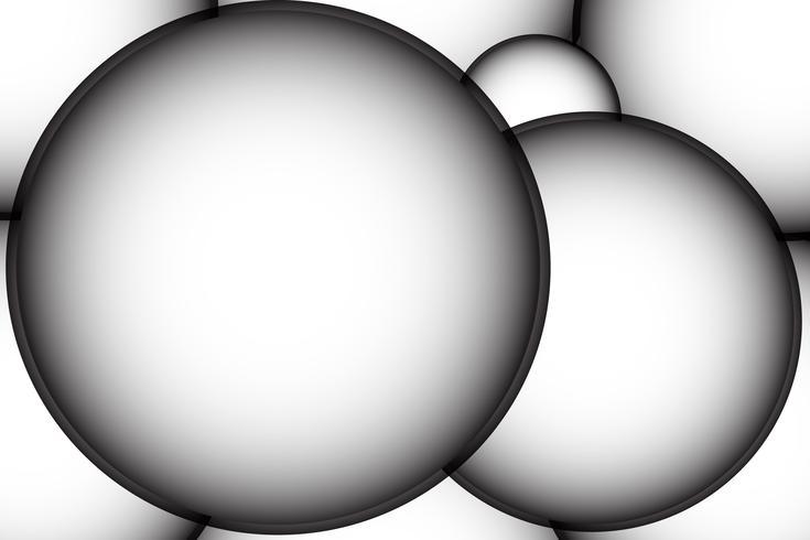 fundo gradiente abstrato Composição de formas dinâmicas