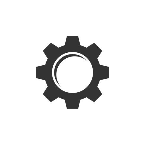 Gear Logo Template Illustration Design. Vecteur EPS 10.