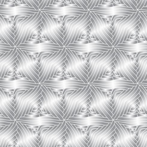 Nahtloses Muster der einfarbigen dekorativen Elemente des Vektors.