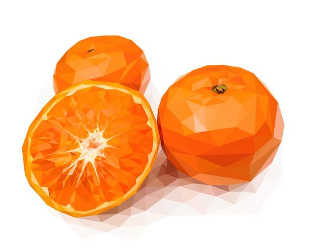 Orange, eine der glückverheißenden Früchte Chinas