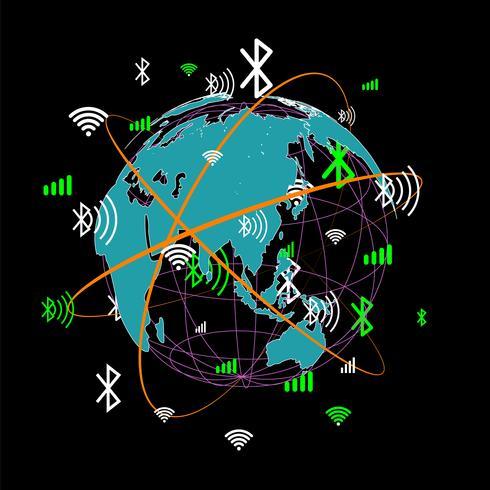 Comunicação do mundo abstrato.