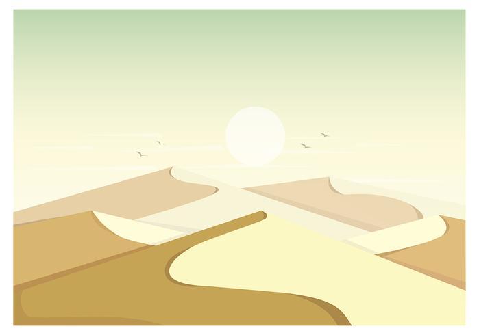 Vektor-Landschaftsillustration