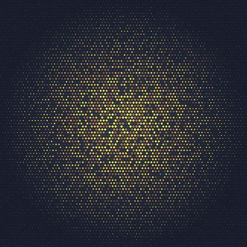 Fundo abstrato com design de ouro