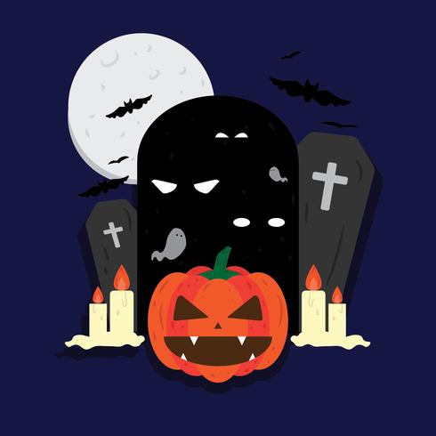 Halloween-Vektor