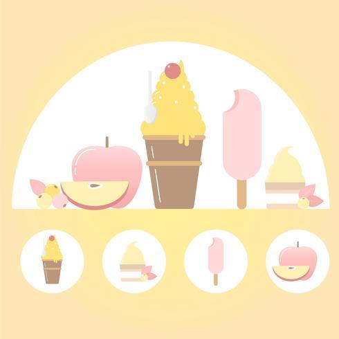 Vector Food Elements