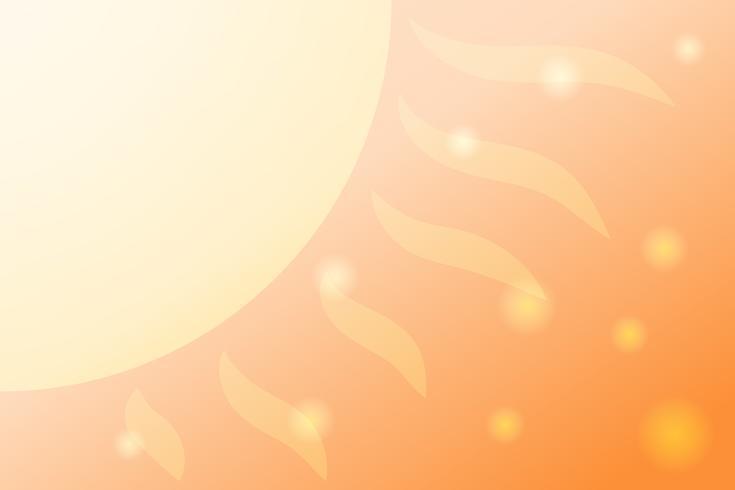 Sommer abstrakten Hintergrund mit Farbverlauf Dynamische Formen Zusammensetzung