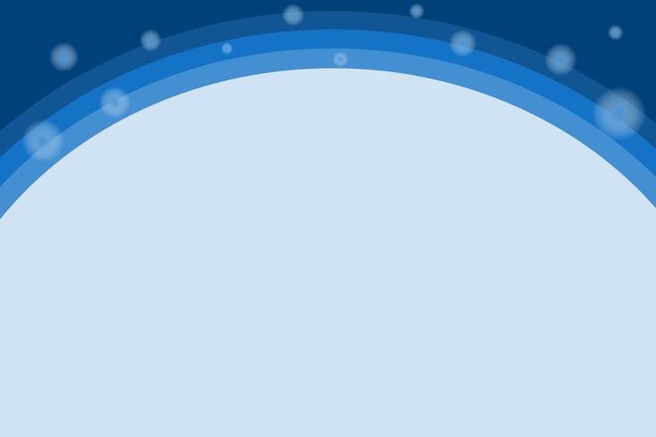 gradiente astratto Forme dinamiche Sfondo blu sfumato cerchio
