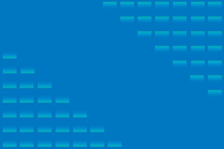 abstrakt gradient Dynamiska former Blå gradient cirkel bakgrund