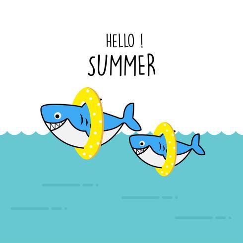 鯊魚卡通 免費下載   天天瘋後製