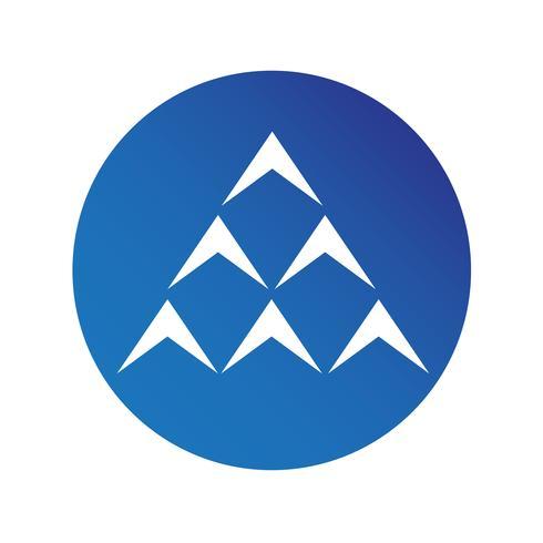simple arrow sign icon