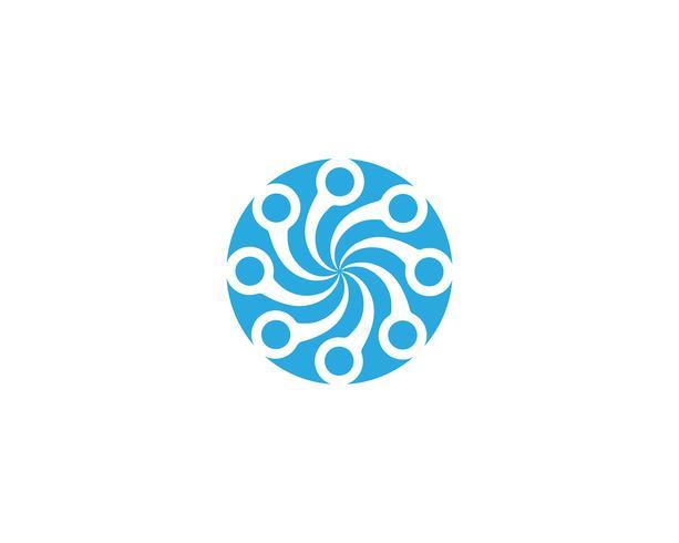 Vortex logo and symbol vector