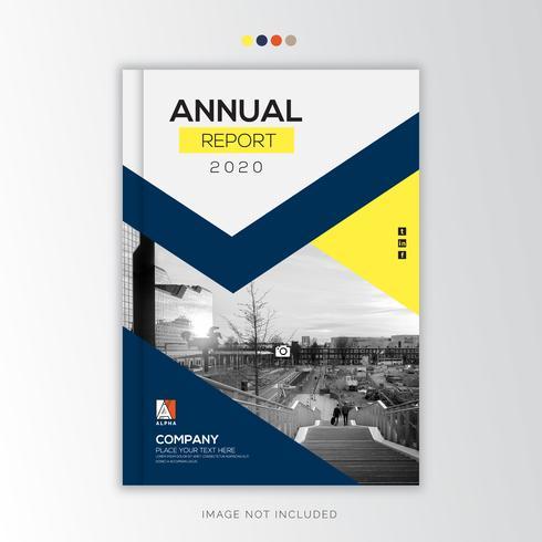Jaarverslag Zakelijk, creatief ontwerp