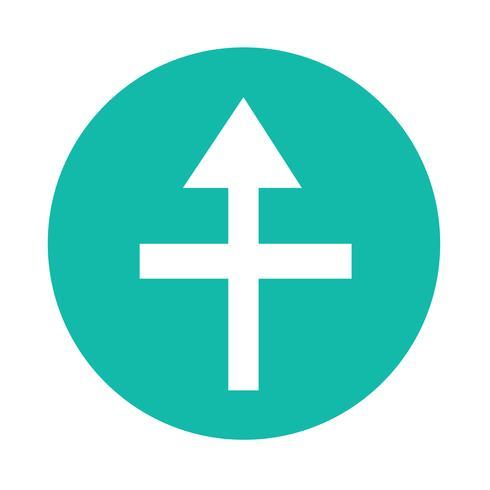eenvoudige pijl teken pictogram