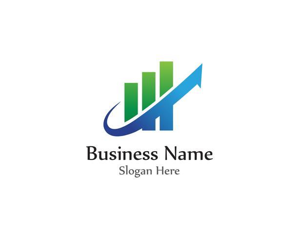 finance logo and symbols vector concept