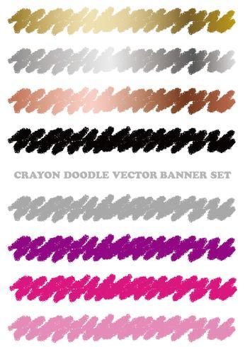 Reeks kleurrijke die elementen van het kleurpotloodontwerp op een witte achtergrond worden geïsoleerd.