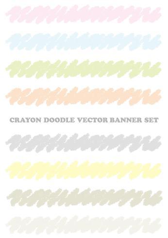 Ensemble d'éléments de conception de crayon de couleur pastel isolé sur fond blanc.