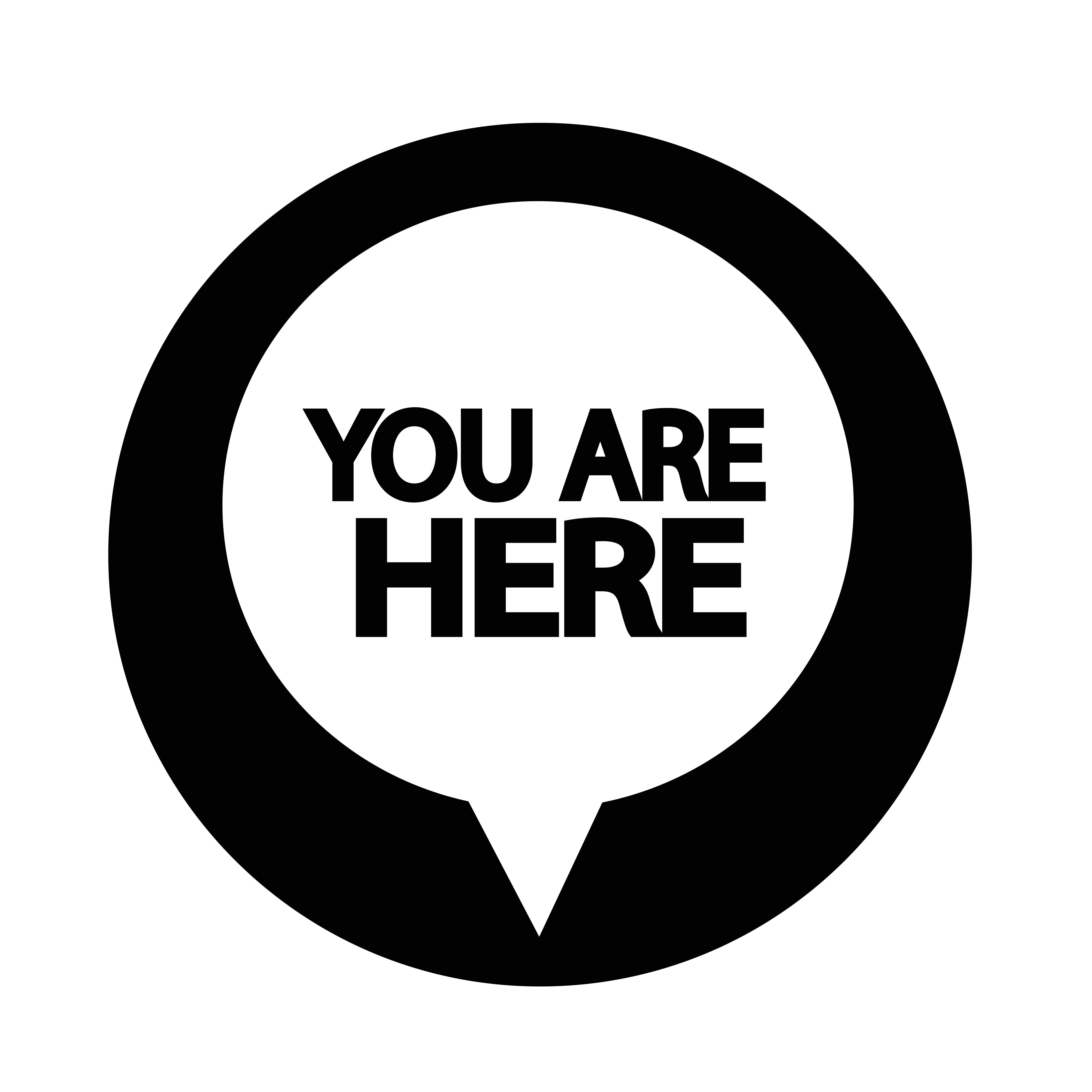 You are here icon - Download Free Vectors, Clipart ...