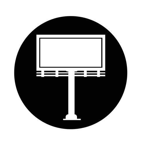 Icona di presentazione cartellone